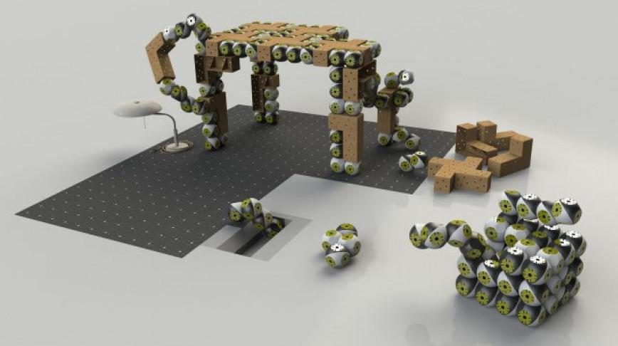 Visual of Robotic Furniture puts IKEA to Shame