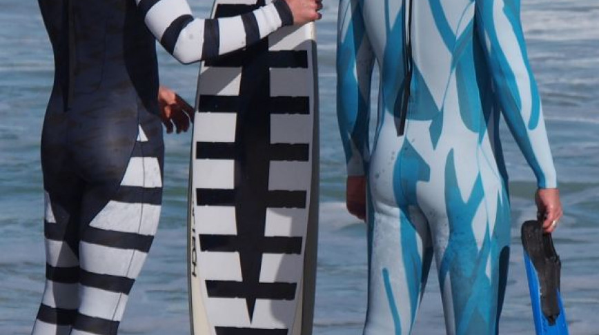 Visual of Shark Deterrent Wetsuits