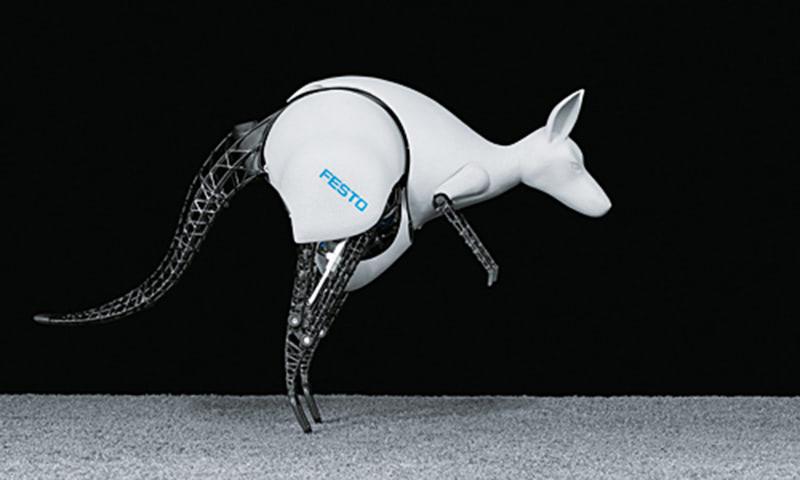 Visual of The Bionic Kangaroo