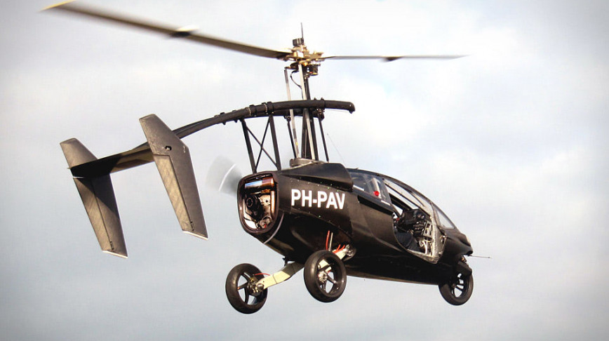 Visual of The Flying Car