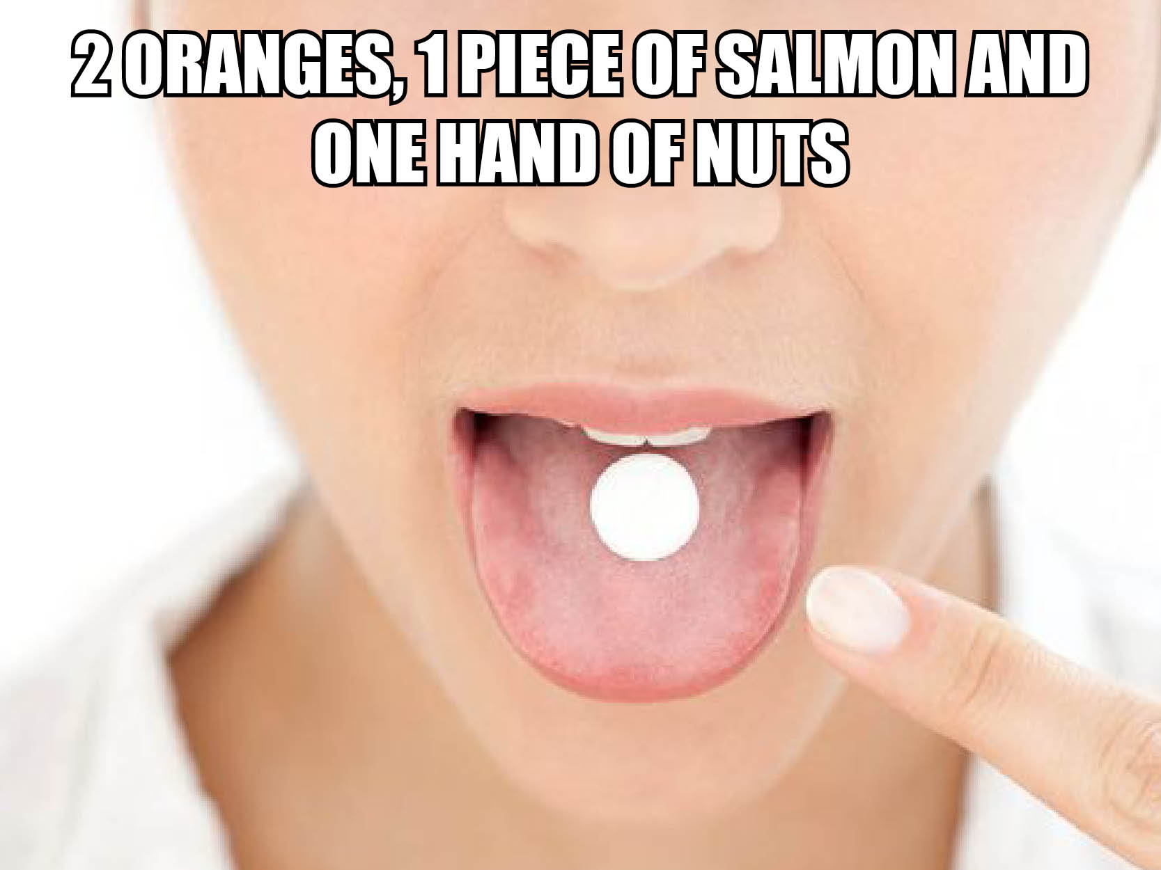 Visual of The Food Pill