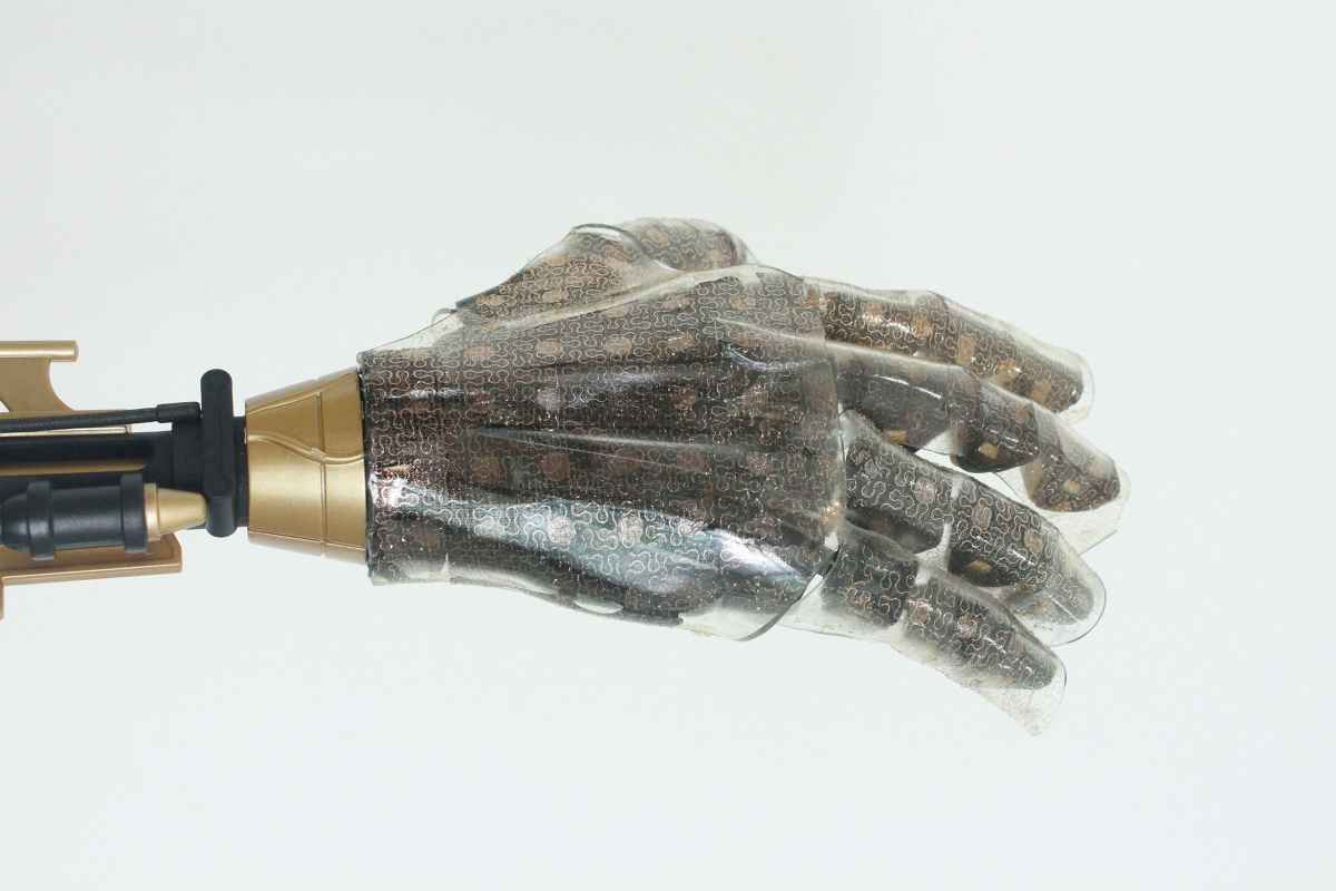 Visual of The Smartest Artificial Skin