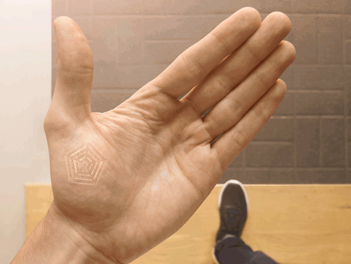 Visual of Wearing Technology Under the Skin