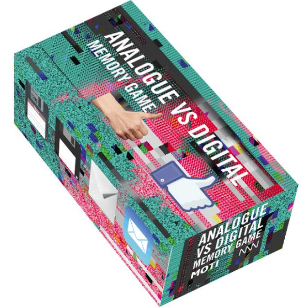 Visual of Analogue vs Digital Memory Game