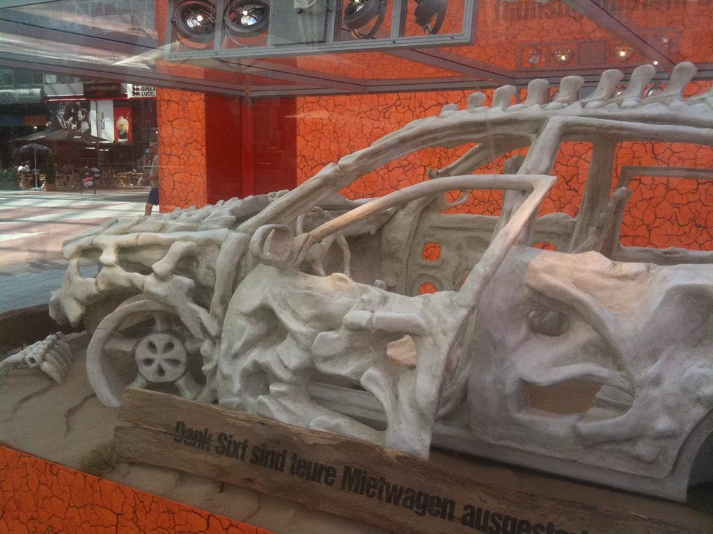 Visual of Car Paleontology