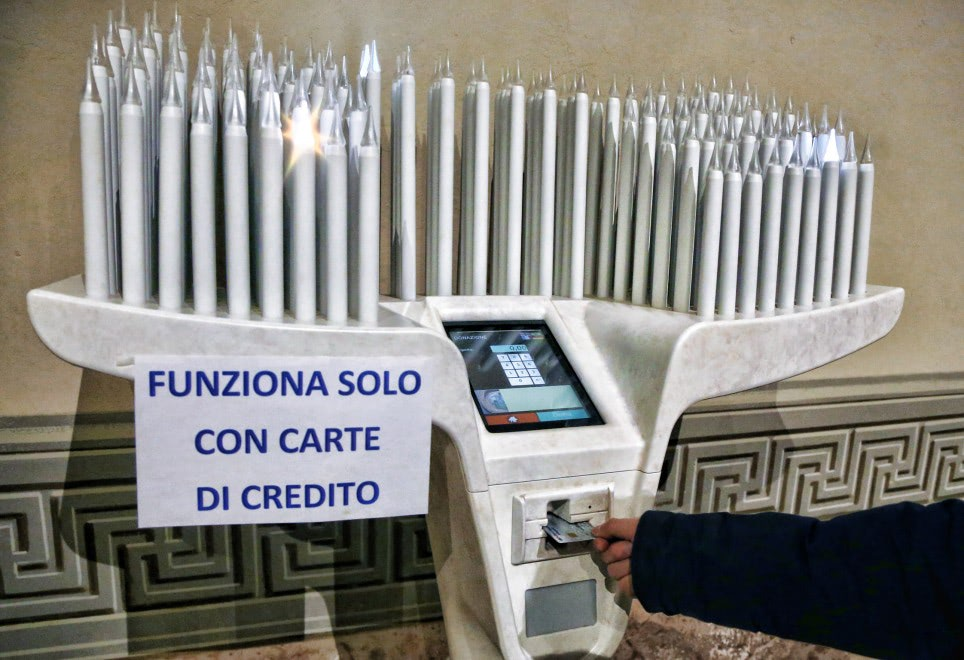 Visual of In This Church We Only Take Credit Cards