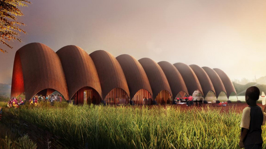 Visual of The Droneport: a New Infrastructure of This Century
