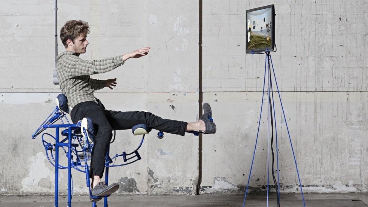 Visual of Dynamic Exoskeleton Chair