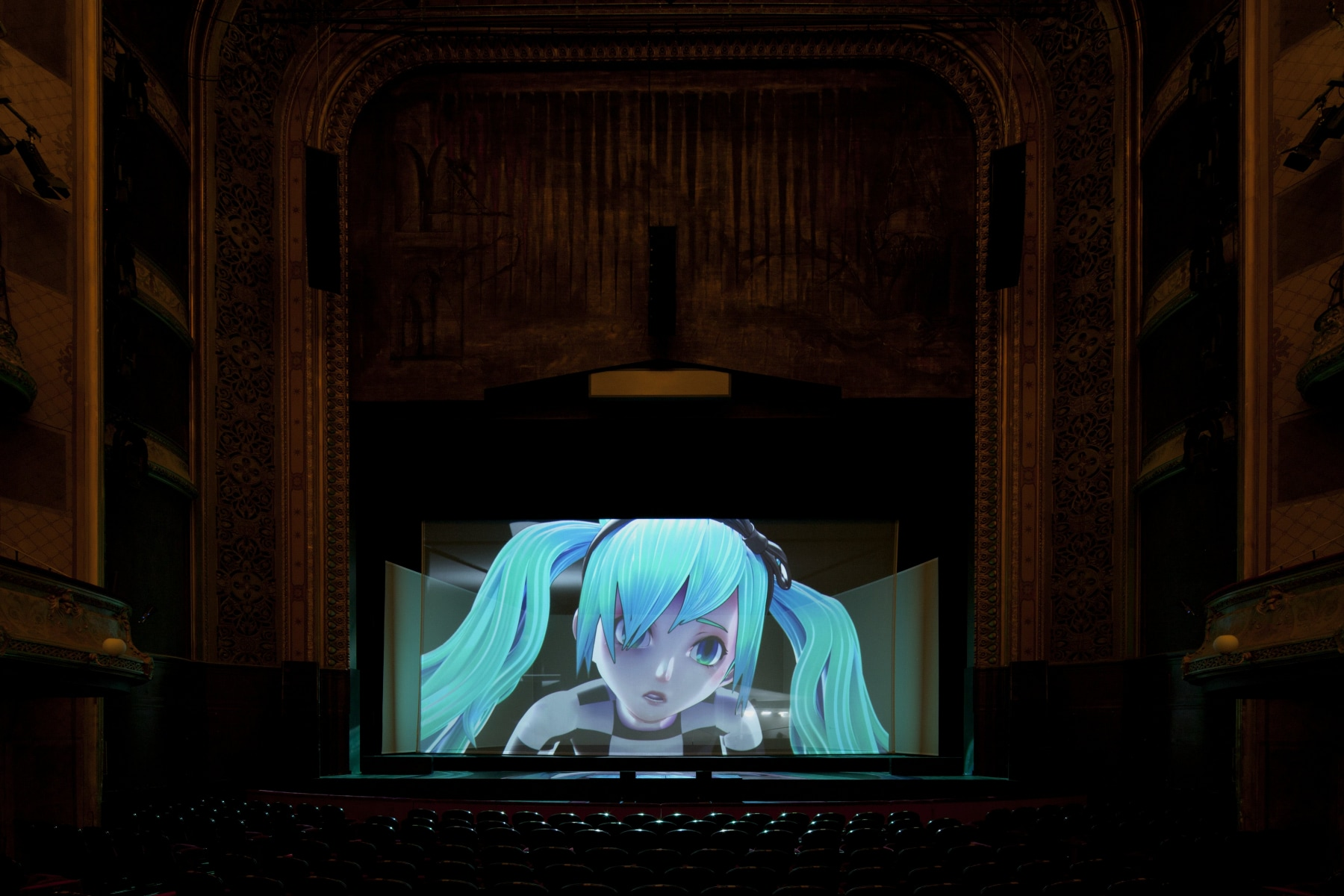 """Visual of """"The End"""": a Virtual Opera Singer, Millions of Fans and the Meaning of Death"""
