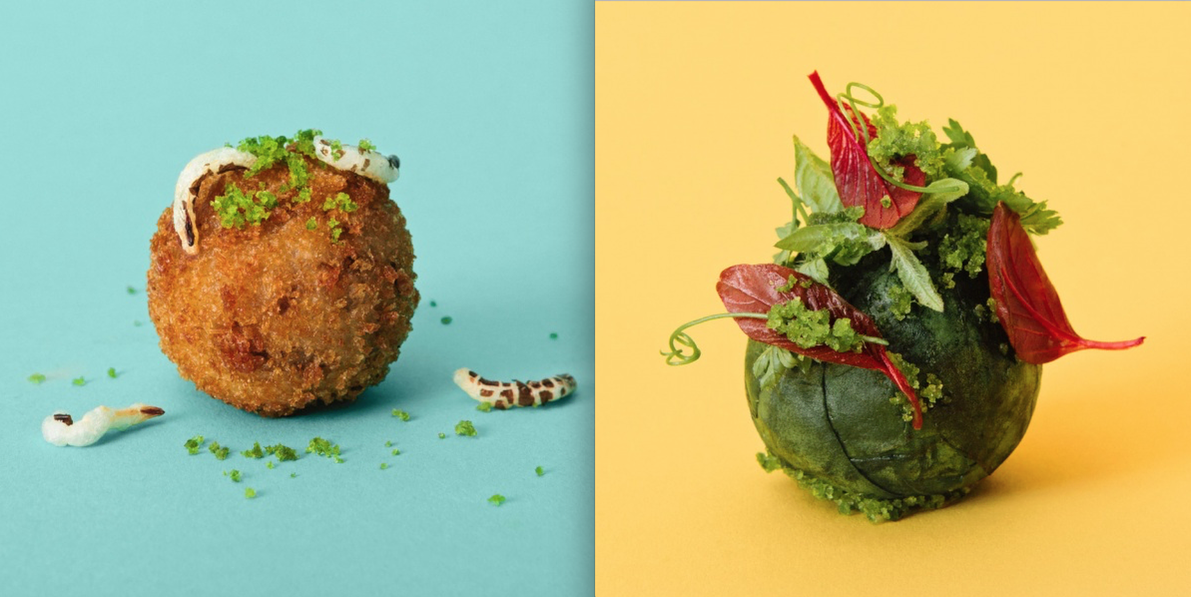 Visual of Ikea's Lab-Grown 3D Printed Meatballs