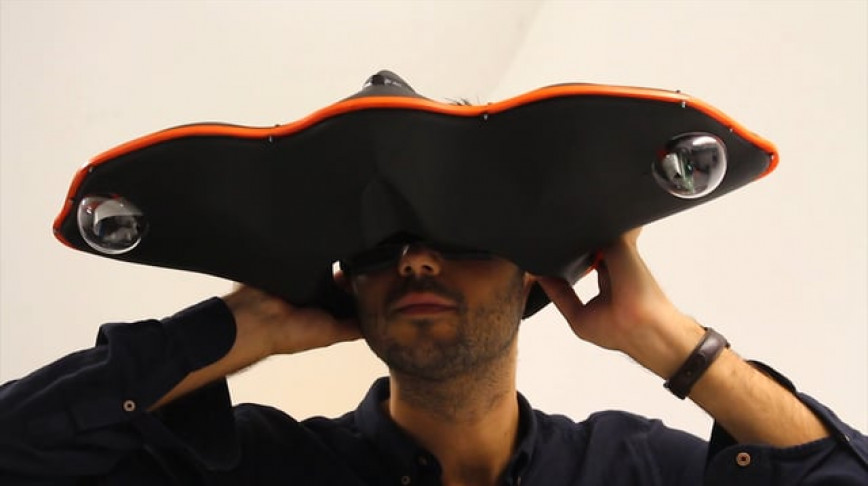 Visual of This Headset Will Widen Your View of Reality