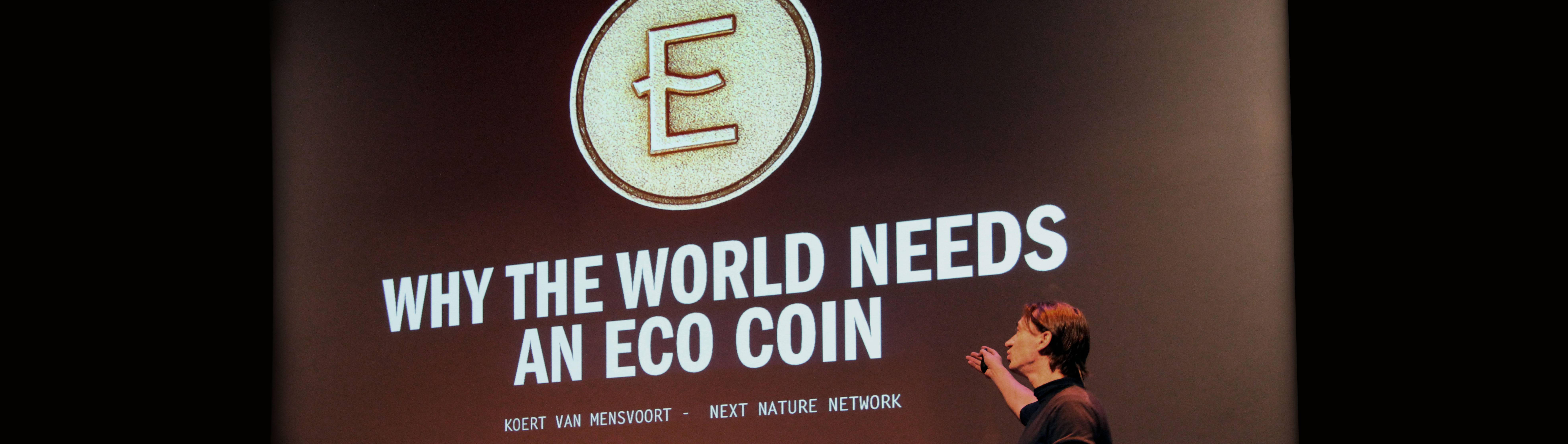 Visual of How to Integrate ECO Coins into Society? Four Eco Dreams in Four Scenarios