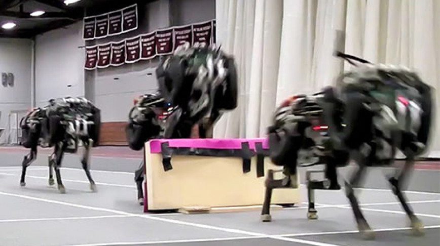 Visual of MIT Lets Robot Cheetah Off Leash