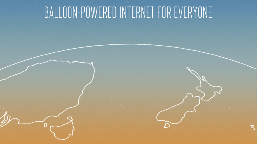Visual of First Testings of Google's Project Loon Announced