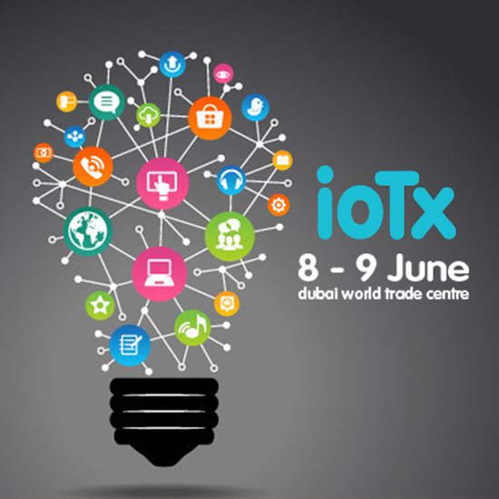 Visual of Next Nature Talk at IoTx in Dubai