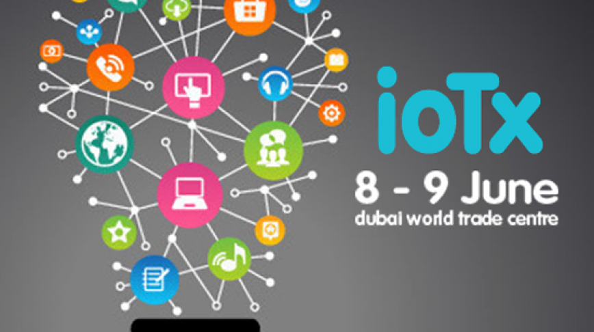 Visual of Next Nature Talk at IoTx in Dubai