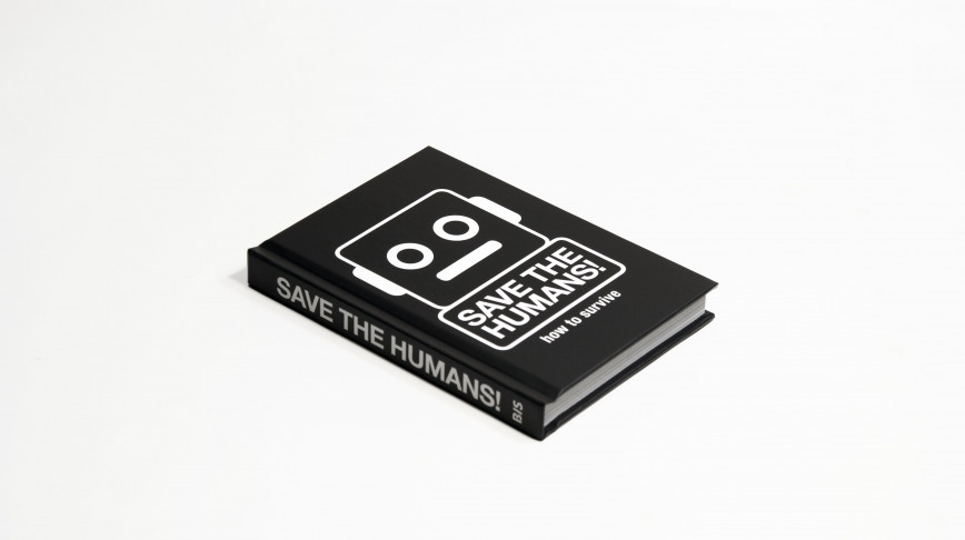 Visual of OUT NOW: Save the Humans! Book
