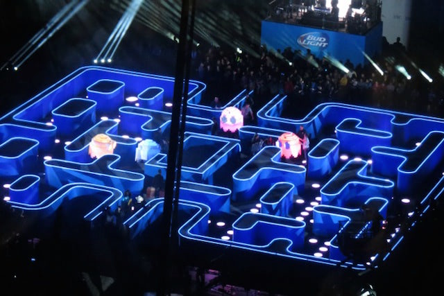 Visual of Pac-Man Boomeranged in the Real World
