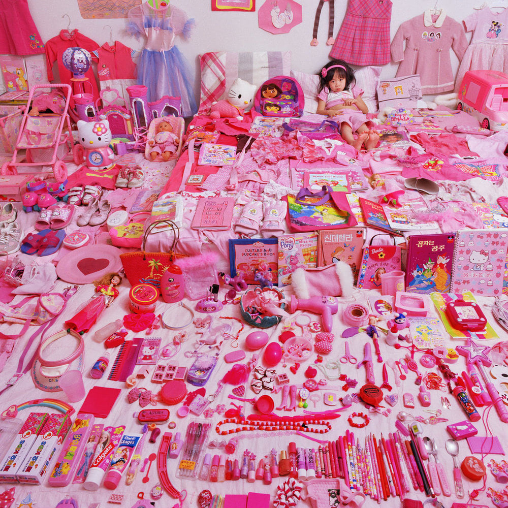 Visual of Seowoo and her Pink Things