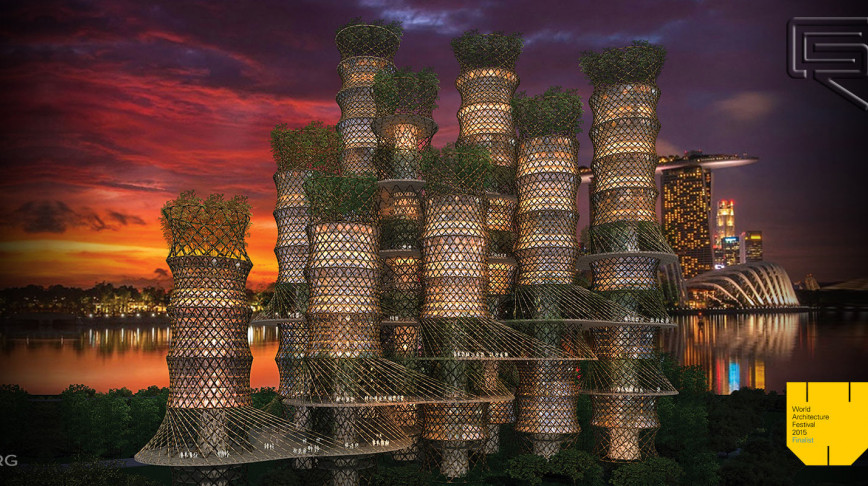 Visual of The Bamboo Skyscraper