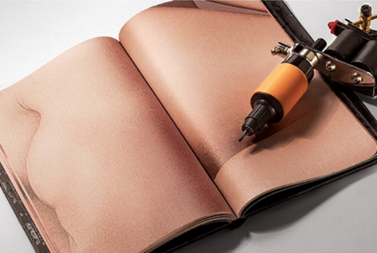 Visual of The Sketchbook Made Of Artificial Skin