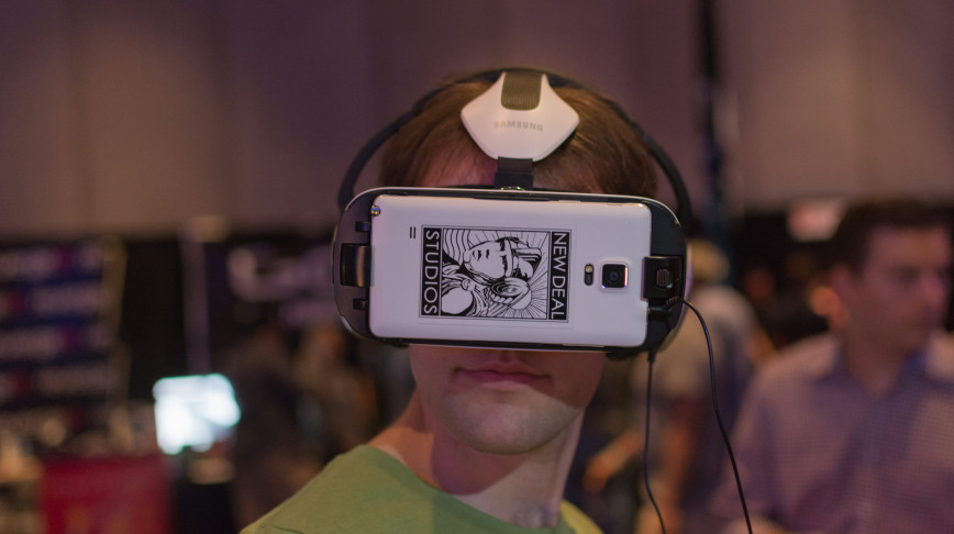 Visual of Solutions to Virtual Reality's Big Problem