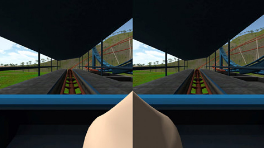 Visual of Virtual Nose for Video Game Players