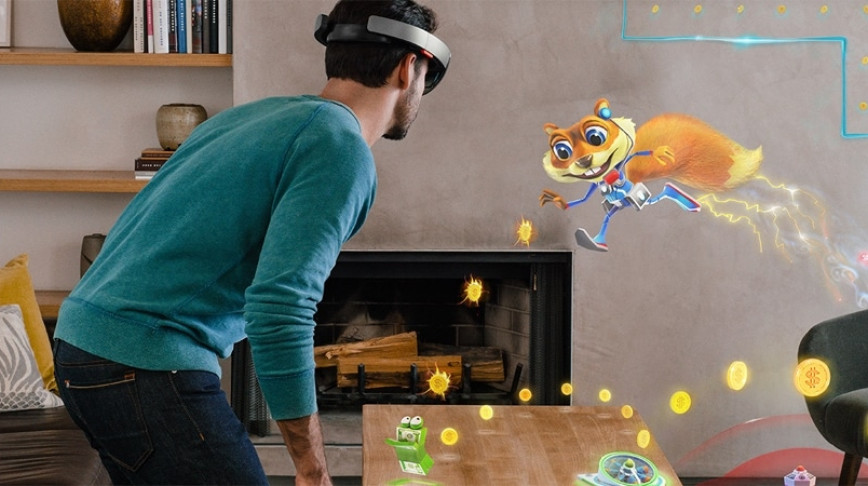 Visual of Microsoft Is Betting on Mixed Reality