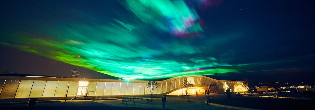 Visual of Artificial Northern Lights