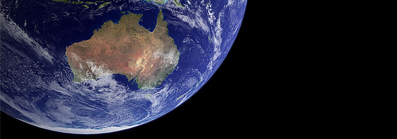 Visual of Australia Moves Too Fast for GPS