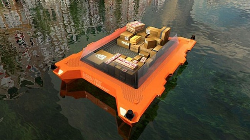 Visual of Roboat Ahoy: the First Autonomous Boats