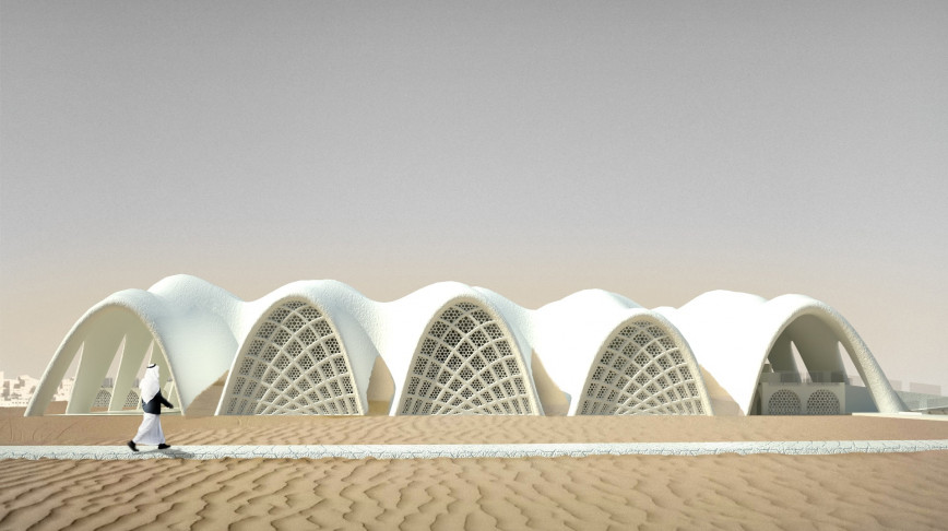 Visual of No-Waste Architecture From Seawater