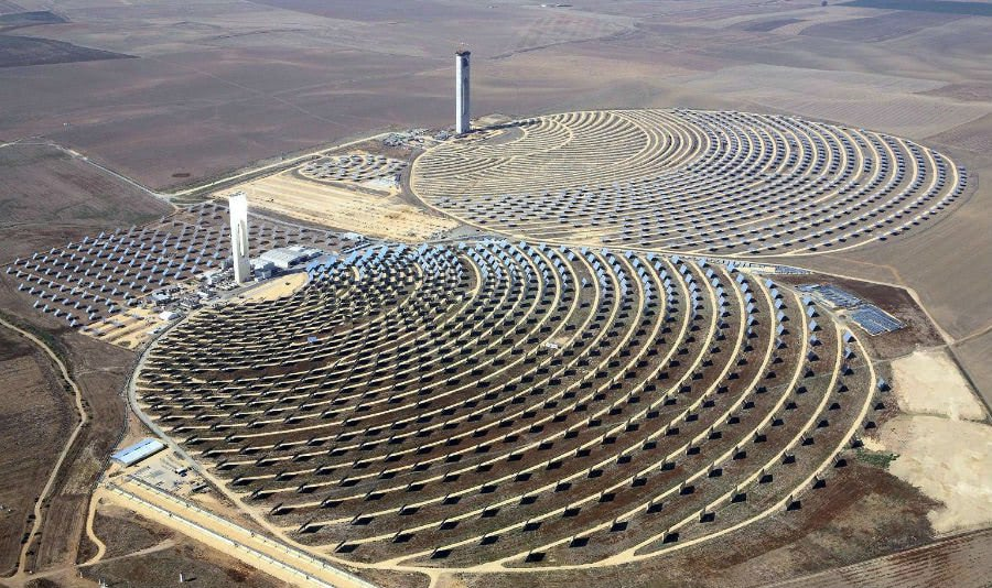 The Planta Solar 10 and 20 (PS10 and PS20), Spain
