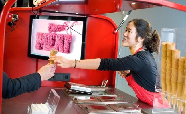 Visual of Dessert Goals: Bistro In Vitro Ice Cream