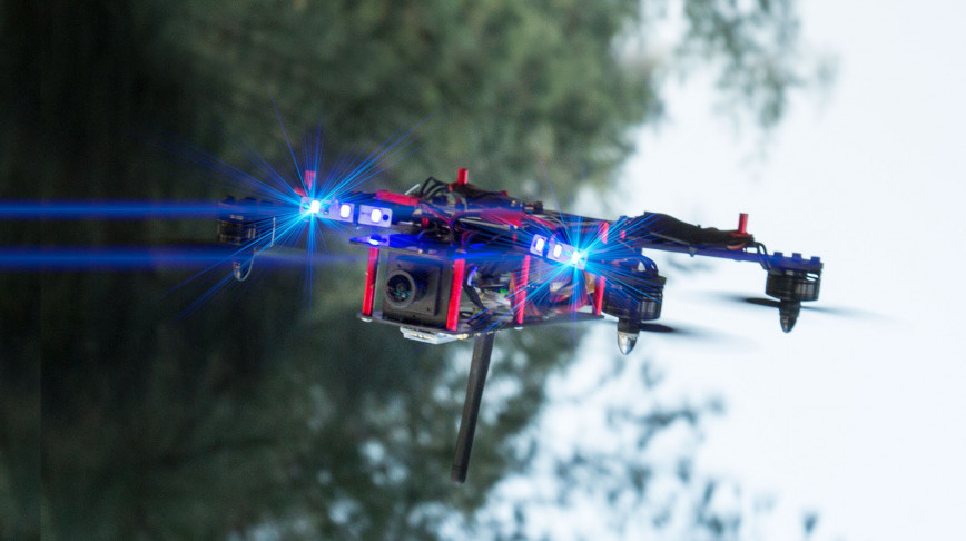 Visual of Drone Racing: Sports for the 21st Century