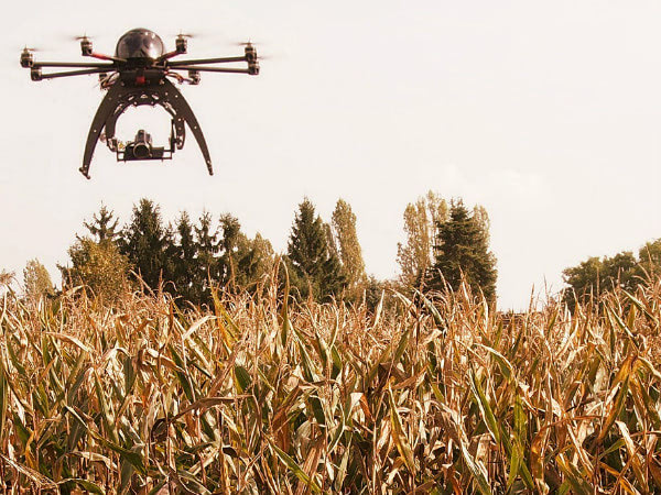 Visual of Drones in Agriculture