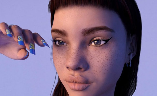 Visual of Fake-for-Real: Who Is Lil Miquela?