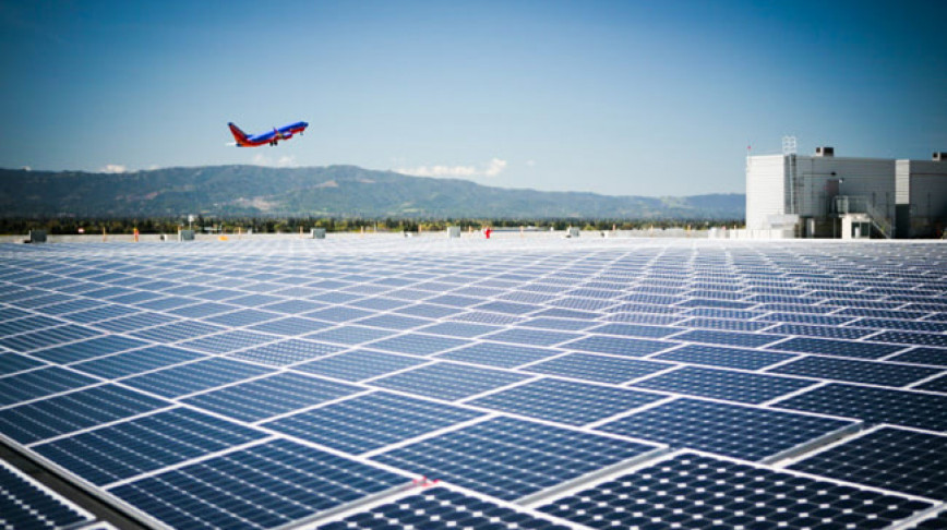 Visual of First Self Sufficient Solar-Powered Airport