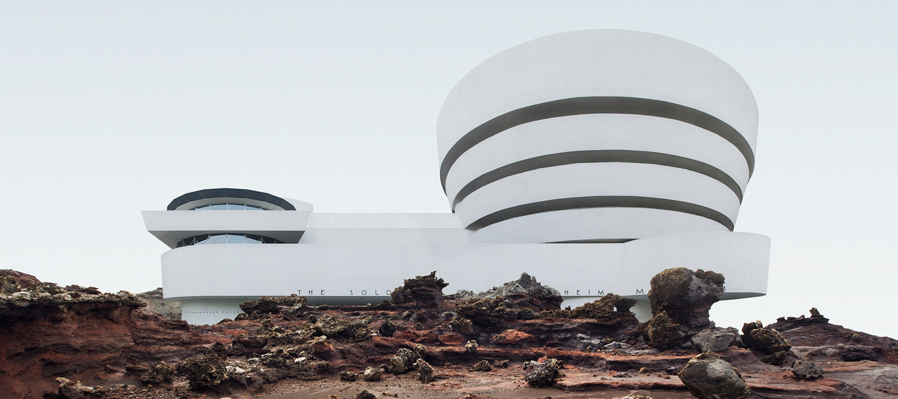 Visual of Iconic Buildings in Untouched Lands