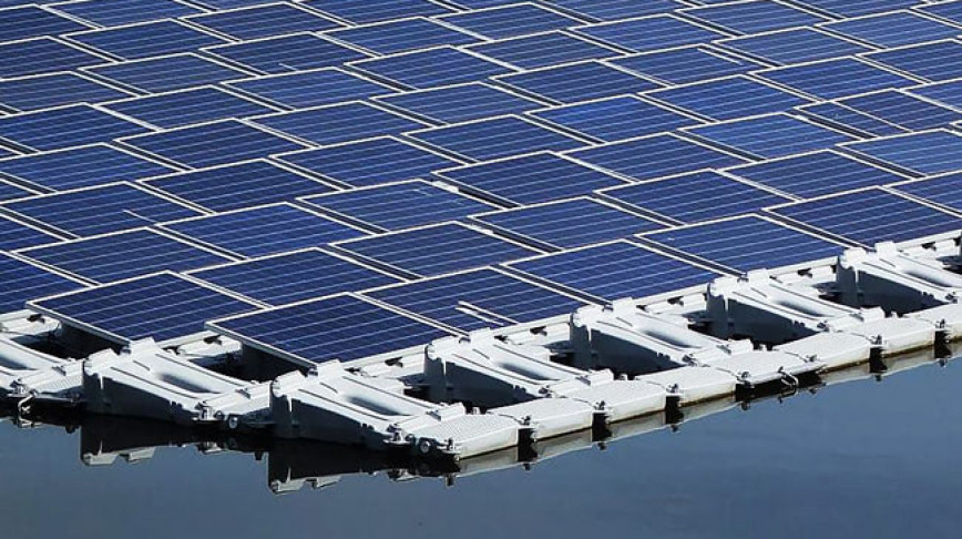 Visual of The Largest Solar Power Plant in the World