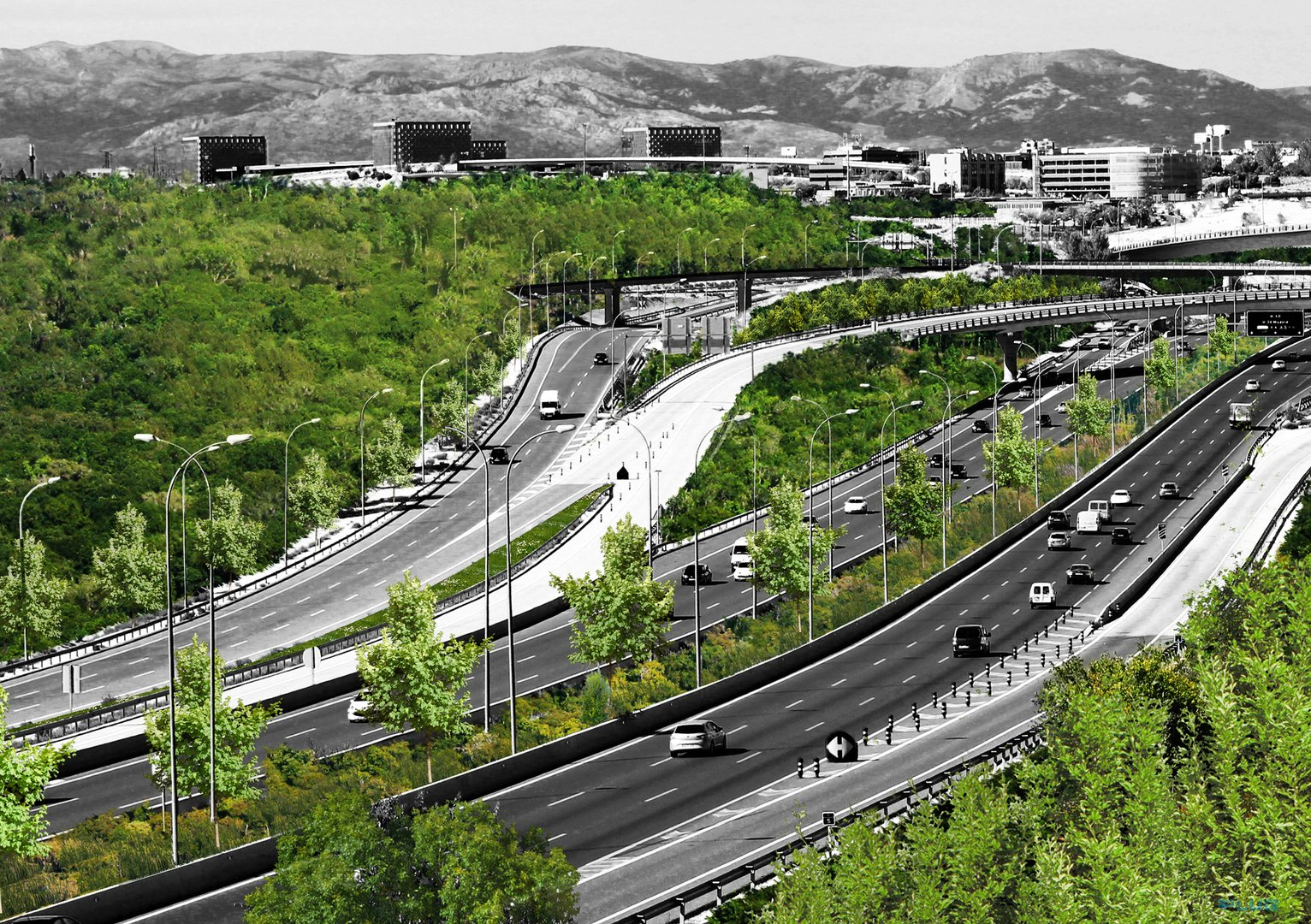 Visual of Madrid's Future Is Greener than Ever