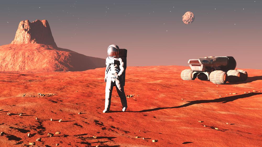 Visual of Explore Mars with NASA's VR Experience