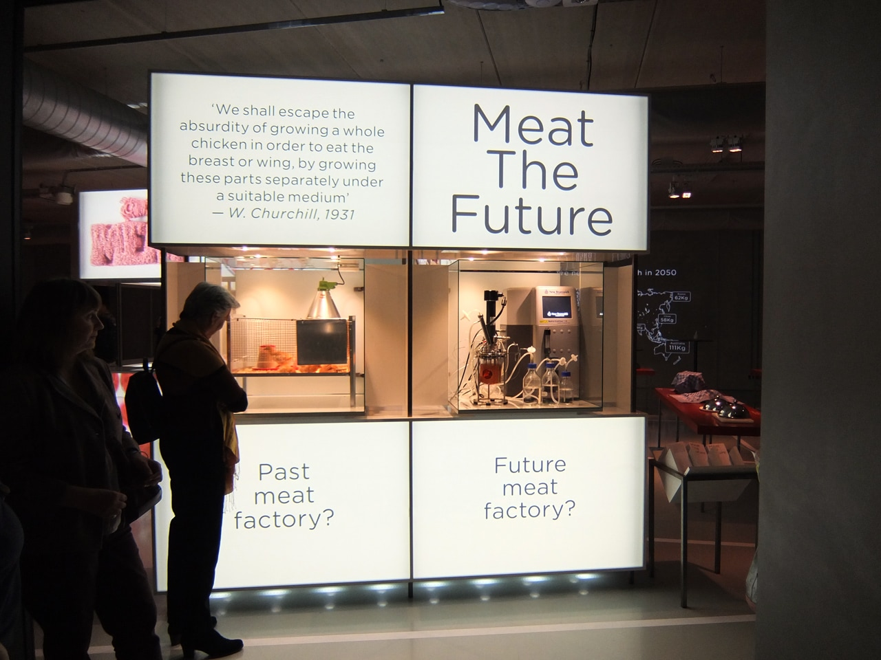 From October 11 to June 11 we will discuss the future of meat at Cube Deign Museum in Kerkrade (The Netherlands) with the exhibition Meat the Future.