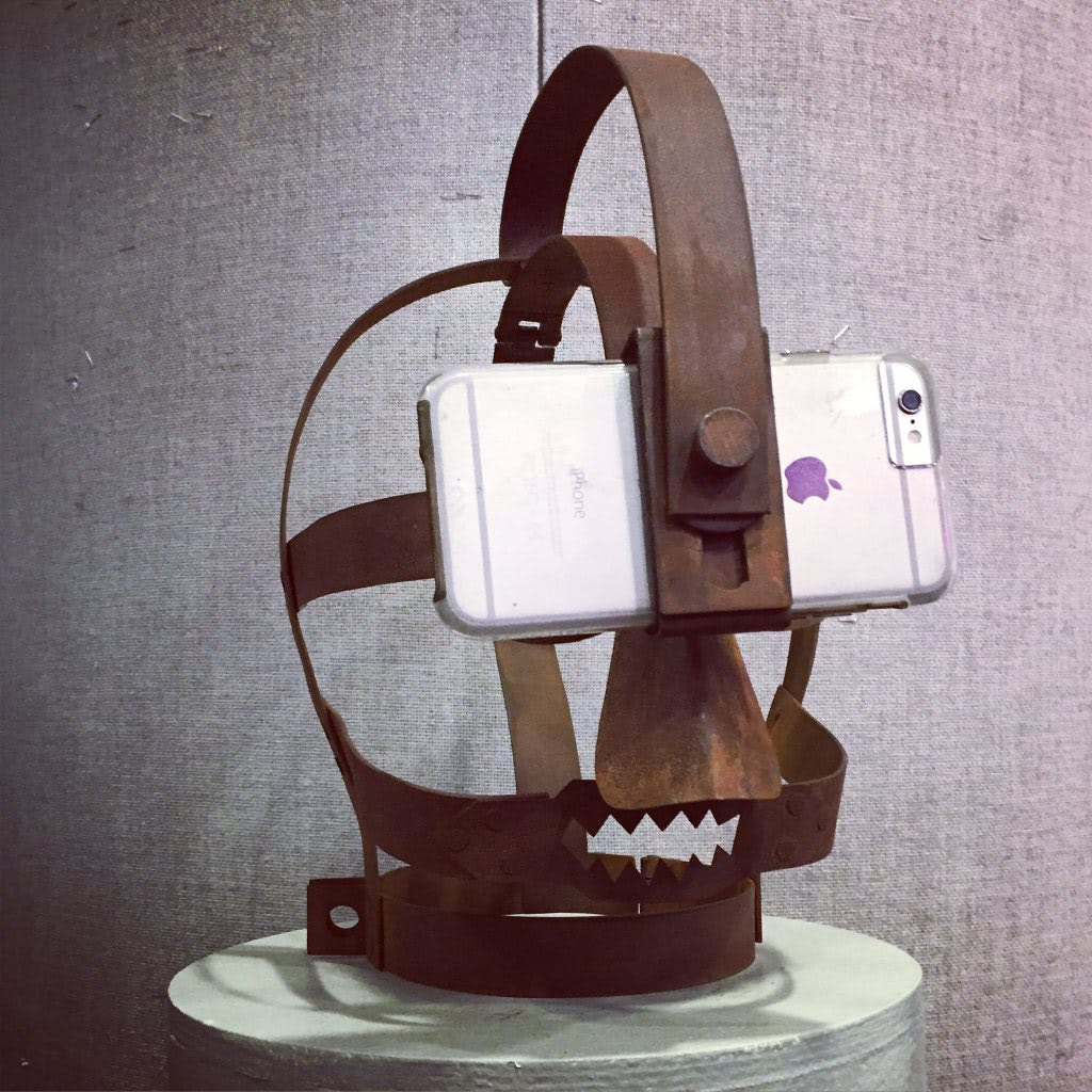 Visual of Medieval VR Headset