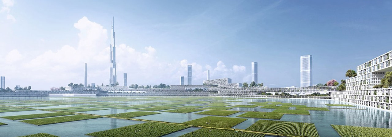 "Visual of ""Next Tokyo"" City Plan Unveiled"