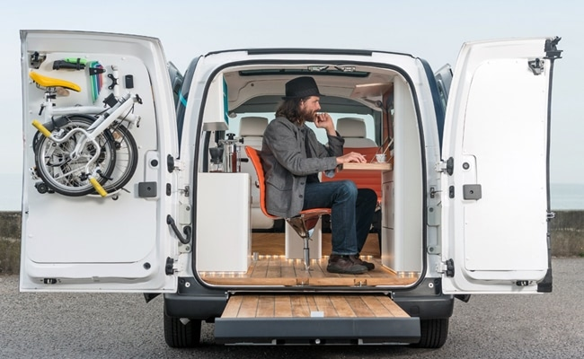 Visual of The Office of the Future on Four Wheels