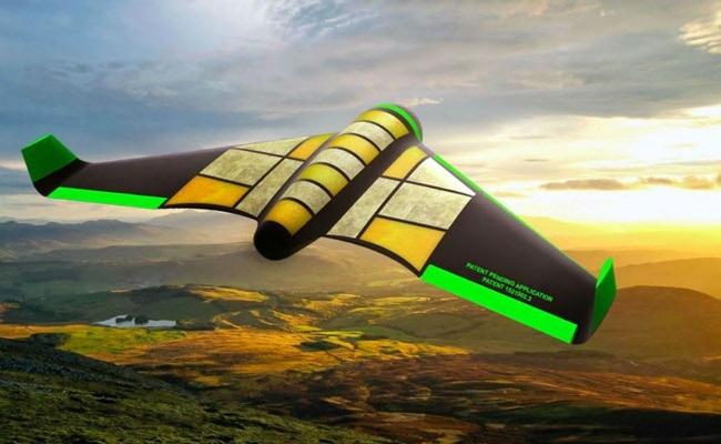 Visual of An Edible Drone for Humanitarian Aid