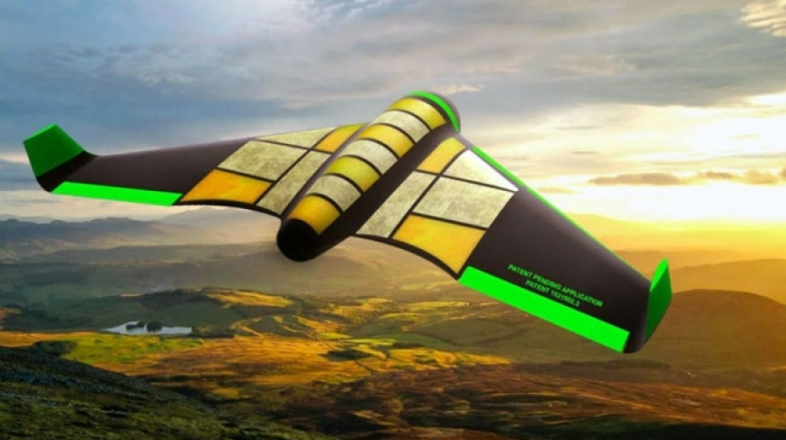 Visual of An Edible Drone for Humanitarian Aid