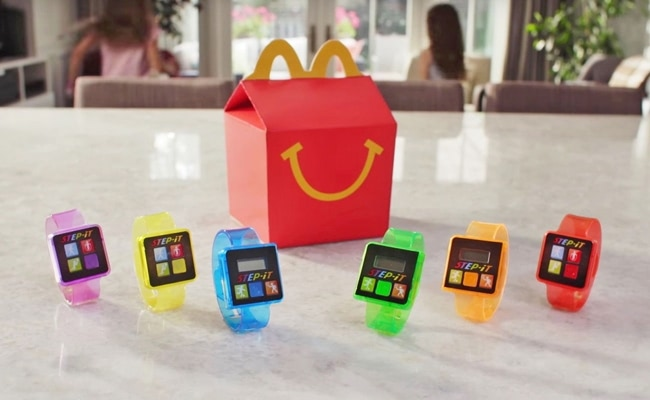 Visual of Fitness Tracker to Make Happy Meal Healthier
