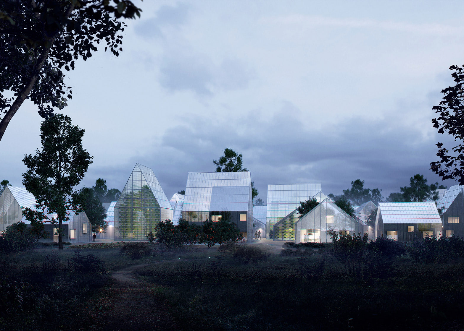 Visual of ReGen, the Autarchic Off-Grid Village